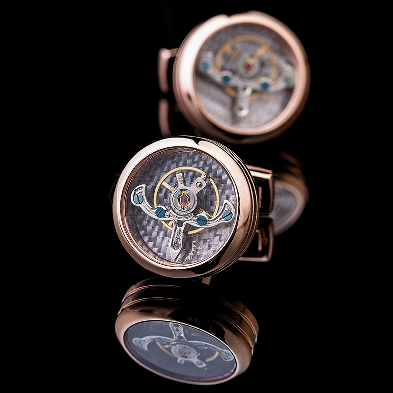 "Sąsagos ""Tourbillon Rose"""